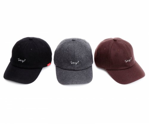 <img class='new_mark_img1' src='//img.shop-pro.jp/img/new/icons16.gif' style='border:none;display:inline;margin:0px;padding:0px;width:auto;' />SAY!(セイ) EMBROIDERY WOOL CAP