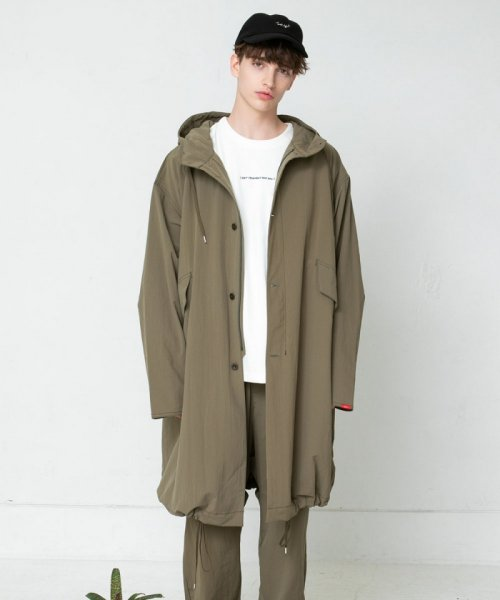 <img class='new_mark_img1' src='//img.shop-pro.jp/img/new/icons16.gif' style='border:none;display:inline;margin:0px;padding:0px;width:auto;' />SAY!(セイ) NYLON GARMENT MODS COAT