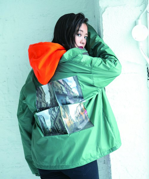 SAY!(セイ) NYLON COACH JKT