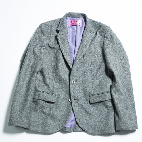 EFFECTEN(エフェクテン) herringbone tailored jacket