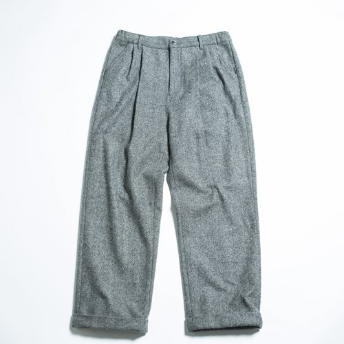 EFFECTEN(エフェクテン) herringbone 2TACK WIDE PANTS