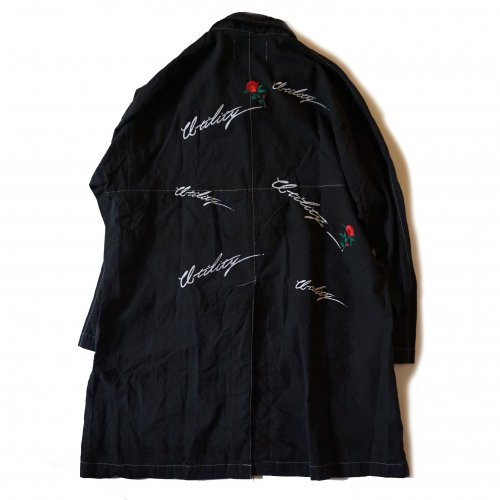 EFFECTEN(エフェクテン) Jet black RAGLAN COAT