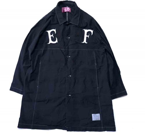 EFFECTEN(エフェクテン) Jet black RAGLAN COAT「E」「F」
