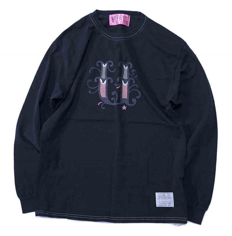Jet black plant `u`L/S