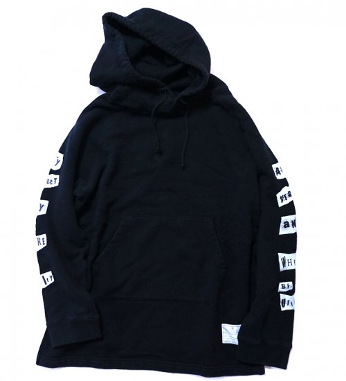 "EFFECTEN(エフェクテン)  Jet black ""ANY STREET ANY WEAR""HOODIE"