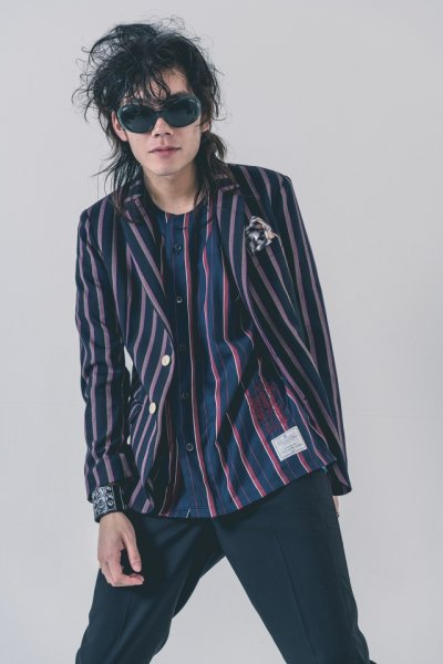 EFFECTEN(エフェクテン) London stripe jaket