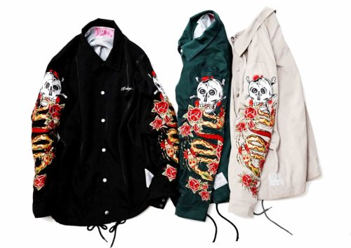 EFFECTEN(エフェクテン)embroidery Coach jacket