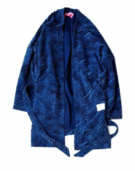EFFECTEN(エフェクテン) indigo crust gown