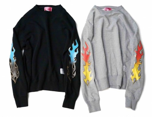EFFECTEN(エフェクテン) fire pattern sweat