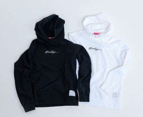 EFFECTEN(エフェクテン)'utility'embroidery hoodie