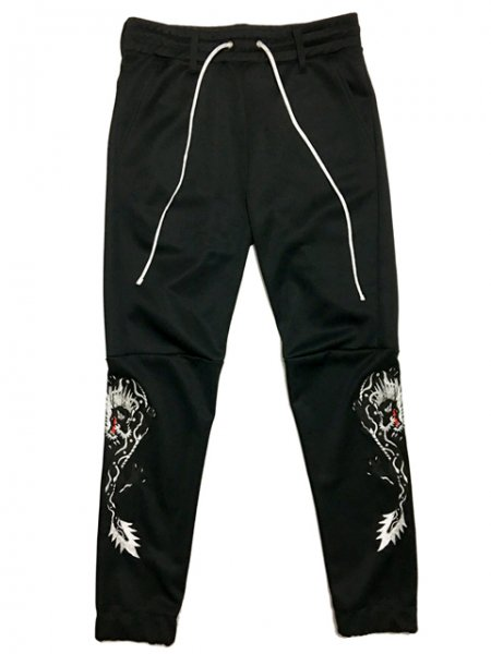 [予約商品] RAKUGAKI TWIN DRAGON Embroidery Truck Pants