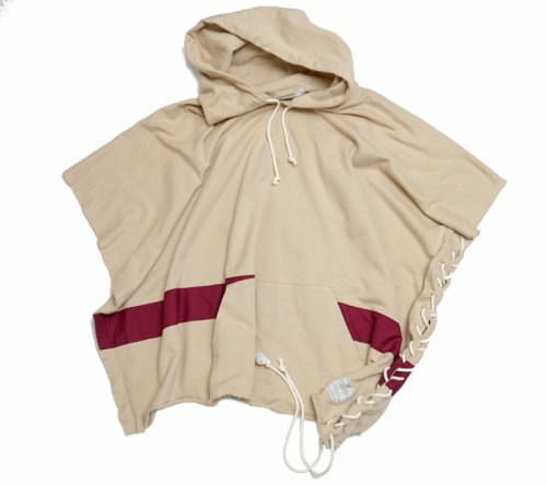 EFFECTEN(エフェクテン)Lace-up Food poncho