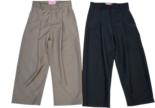 EFFECTEN(エフェクテン) 2tuck wide slacks pants