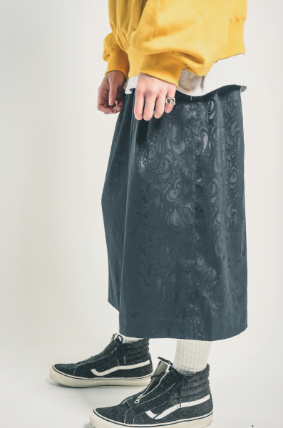EFFECTEN(エフェクテン)  shadow black Gaucho Pants