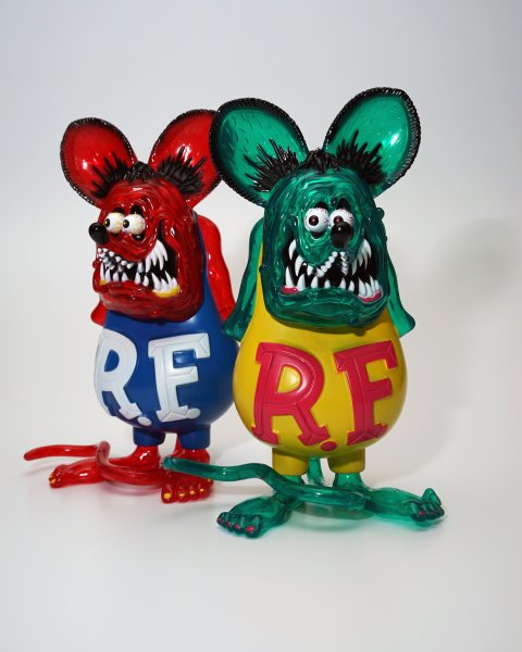SEVESKIG/セブシグ  【LIMITED CLEAR】RATFINK × UNGREEPER CLEAR SOFVI