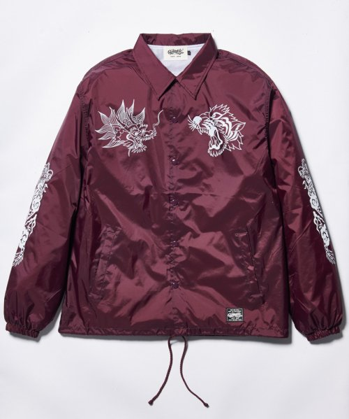 "[予約商品] RAKUGAKI(ラクガキ) / ""TIGER & DRAGON"" Coach Jacket"