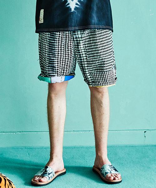 [予約商品]SEVESKIG/セブシグ AFGHAN STALL SHORT PANTS