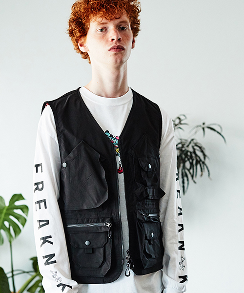 [予約商品]SEVESKIG/セブシグ STRETCH MULTIFUNCTION VEST
