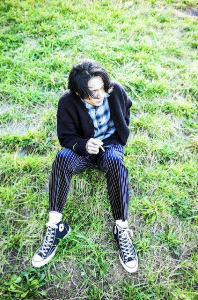 EFFECTEN(エフェクテン) Two Kinds Knit Cardigan