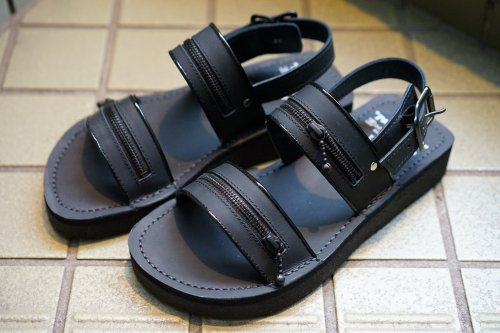 [予約商品]EFFECTEN(エフェクテン) EFFECTEN (utility) × TEARS OF SWAN × KIDS LOVE GAITE  Rubber Sole Zip Sandal