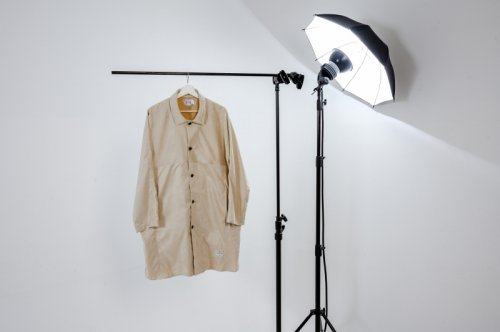 U-BY EFFECTEN(ユーバイエフェクテン)Suede Over Shirts Coat