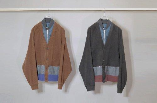 elephant TRIBAL fabrics (エレファントトライバルファブリックス ) / MA-1 DockingCardigan