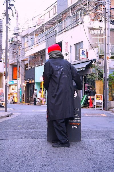 EFFECTEN(エフェクテン) Trench Coat'fuck the past'[H custom]