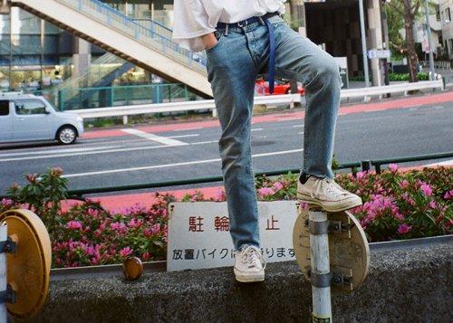 EFFECTEN(エフェクテン)  leather long belt