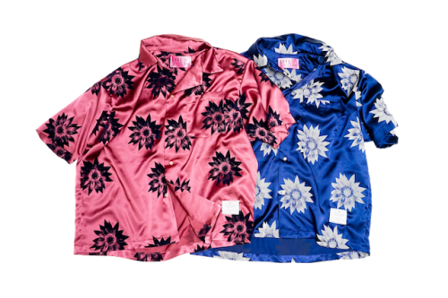 EFFECTEN(エフェクテン) flower shine s/s shirts