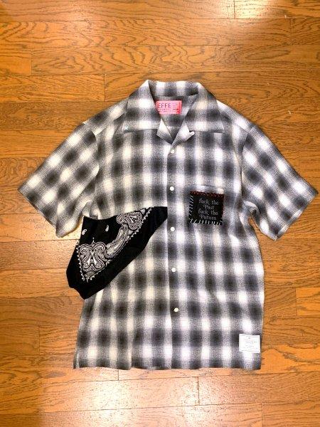 [limited item]EFFECTEN(エフェクテン)championcheck shirt Y custom