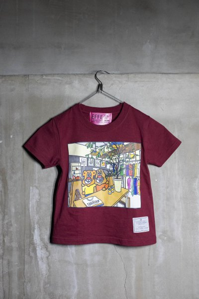 EFFECTEN(エフェクテン)  inside the utility s/s(KIDS)