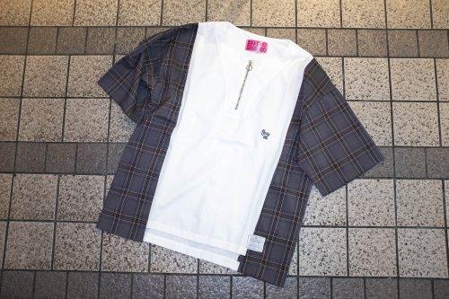 [spot item]EFFECTEN(エフェクテン) 『half zip pullover Tee 』