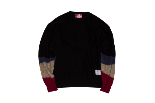 [予約商品]EFFECTEN(エフェクテン) light up path dolman sleeve knit