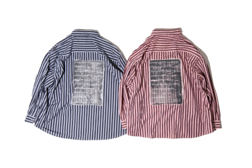 EFFECTEN(エフェクテン)cliche stripe shirts