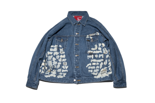 [予約商品]EFFECTEN(エフェクテン)upon the track denim jacket [Bleach]