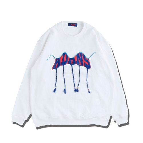 ADANS(アダンス) BRAID EMBROIDERY SWEAT PULLOVER