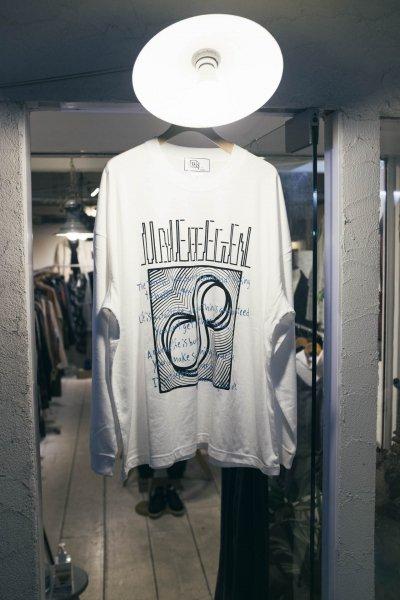 U-BY EFFECTEN(ユーバイエフェクテン) 8th anniversary L/S Tee