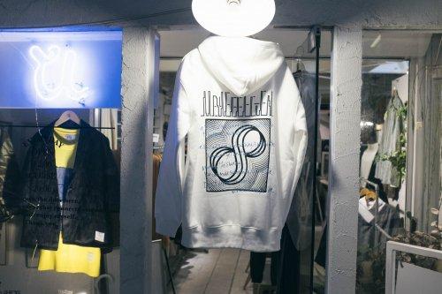 U-BY EFFECTEN(ユーバイエフェクテン) 8th anniversary hoodie