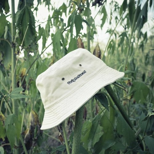 Triple Steal(トリプルスチール) Triple Steal logo Bucket hat