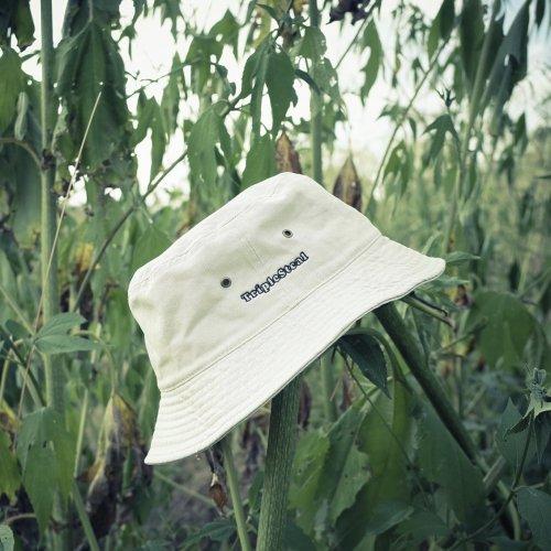 Triple Steal(トリプルスチール) Triple Steal logo Bucket hat