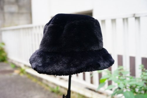 U-BY EFFECTEN(ユーバイエフェクテン)  fur bucket hat