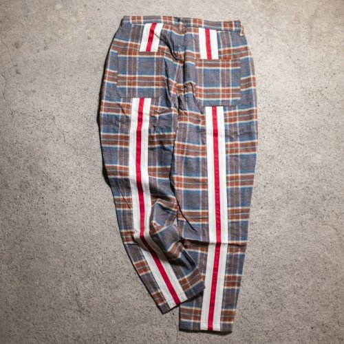 waku2 / ワクワク  Back line check pants
