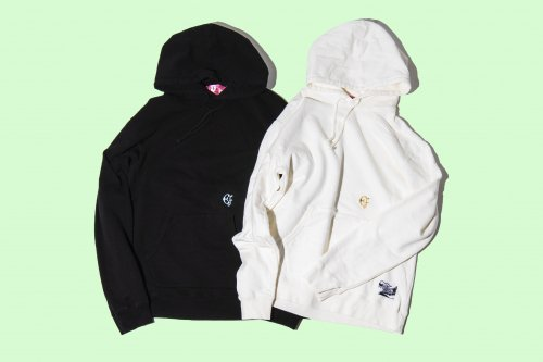 EFFECTEN(エフェクテン)  utility embroidery hoodie (basic line)