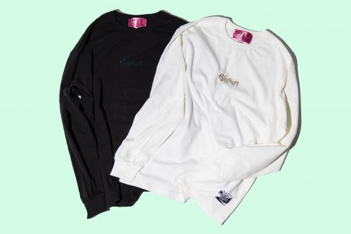 EFFECTEN(エフェクテン)   'effcten'embroidery L/S (basic line)