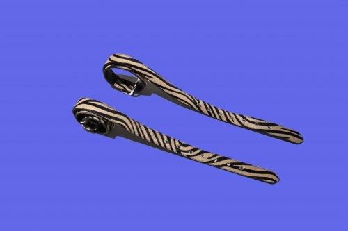 EFFECTEN(エフェクテン)   Unborn Calf zebra belt