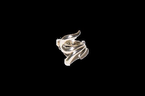 """[予約商品] EFFECTEN(エフェクテン)  Barbed wire zirconia """"U"""" ring"""