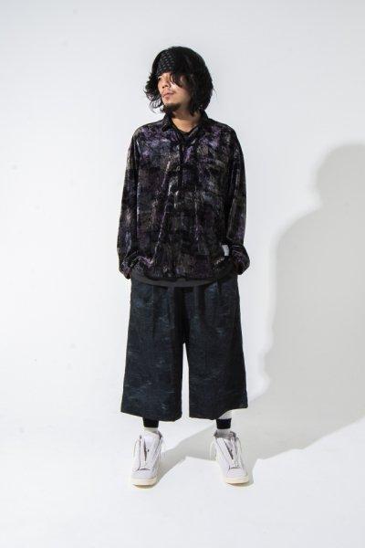 EFFECTEN(エフェクテン)   contrary gaucho pants (U by. EFFECTEN)