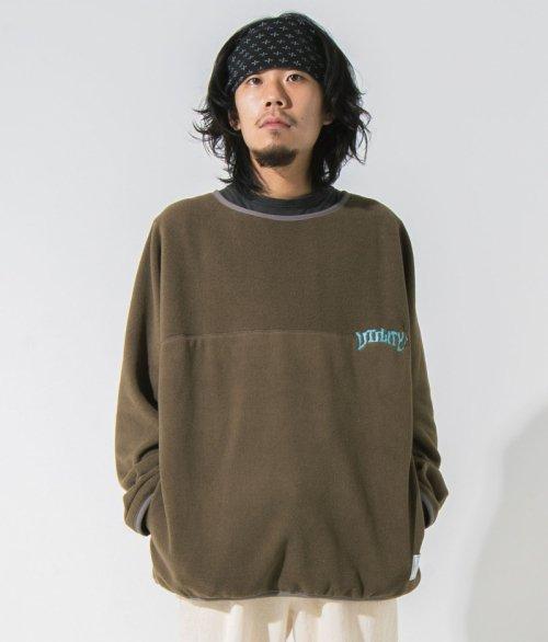 EFFECTEN(エフェクテン) tool fleece pullover