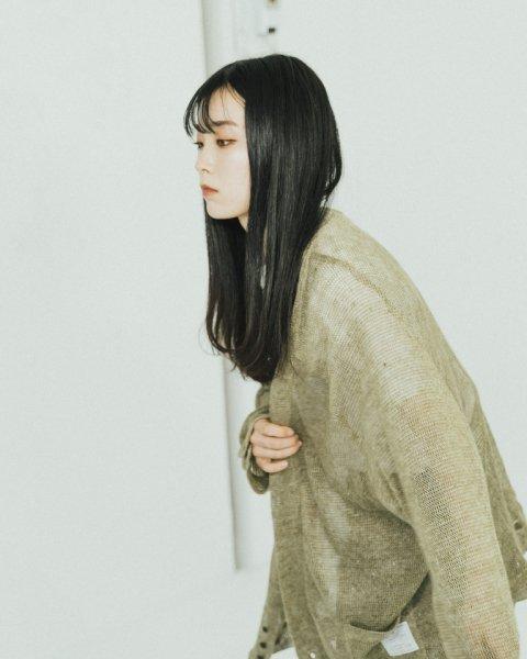 [予約商品] EFFECTEN(エフェクテン)  spare knit cardigan
