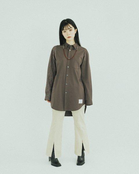 [予約商品] EFFECTEN(エフェクテン)  different exchange shirts
